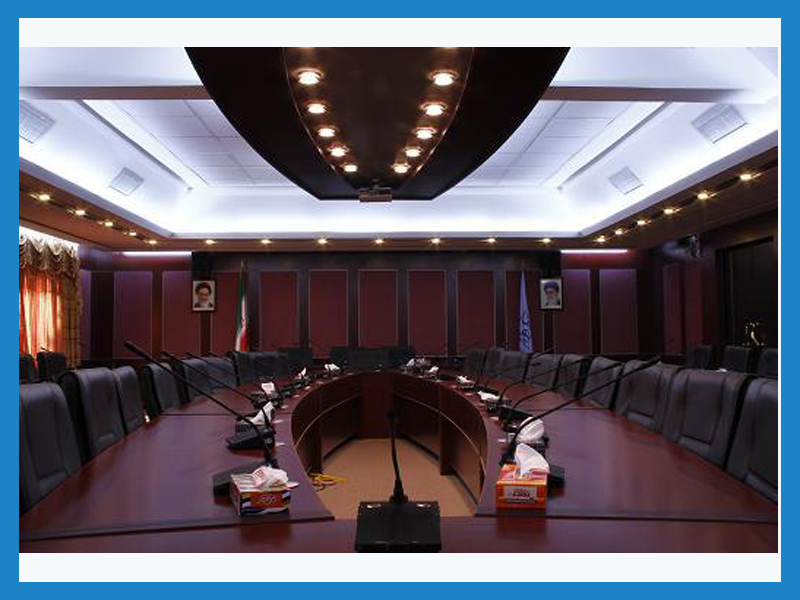 سالن کنفرانس شیخ بهایی مرکز همایش های بین المللی دانشگاه شهید بهشتی