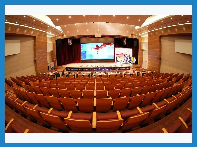 سالن آزادگان مرکز همایش های بین المللی پژوهشگاه صنعت نفت