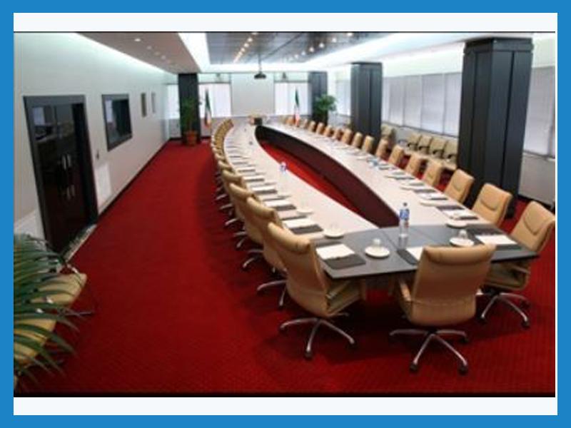 سالن چشم انداز مرکز مطالعات و بهره وری منابع انسانی سازمان مدیریت صنعتی