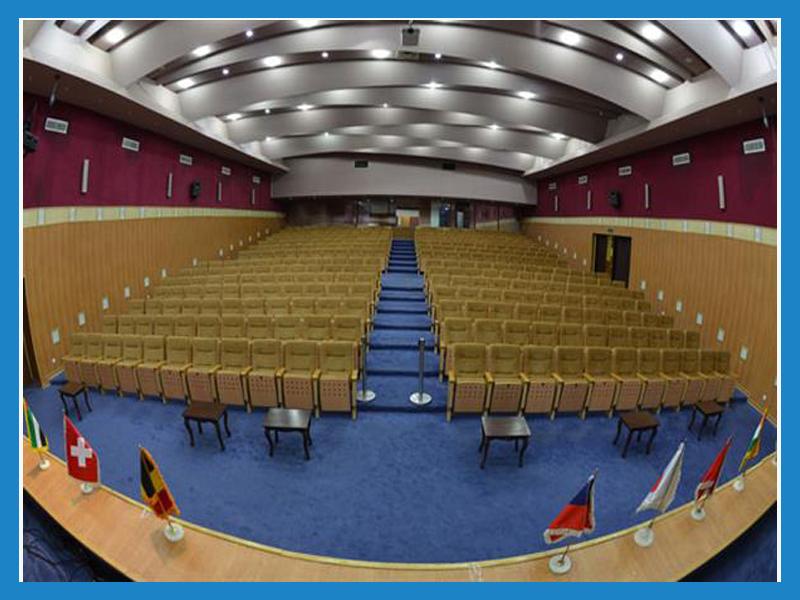 سالن کنفرانس شماره 1 سالن های همایش نمایشگاه بین المللی تهران
