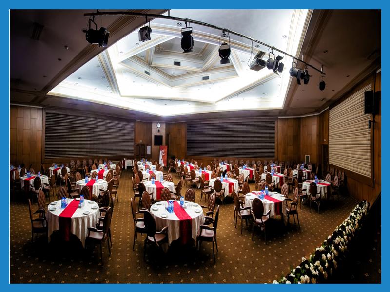 سالن هگمتانه سالن همایشهای بین المللی هتل المپیک