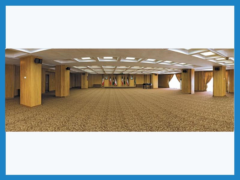 تالار فردوسی مرکز همایشهای بین المللی رایزن