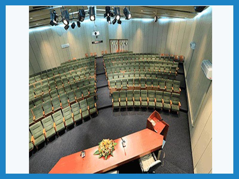 آمفی تئاتر  مرکز مطالعات و بهره وری منابع انسانی سازمان مدیریت صنعتی